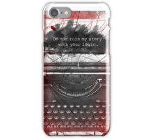 What Richard Castle Said 2.0 iPhone Case/Skin