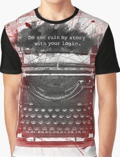 What Richard Castle Said 2.0 Graphic T-Shirt