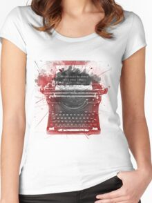 What Richard Castle Said 2.0 Women's Fitted Scoop T-Shirt