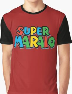 Super Maraio Graphic T-Shirt