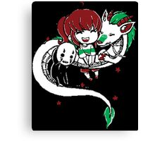 Spirited Away Chibi Canvas Print