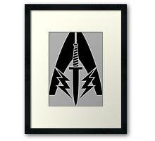 System Alliance Marines Symbol Framed Print