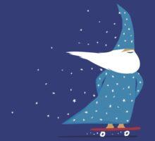 Skateboard Wizard by SevenHundred
