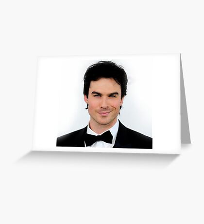 Ian Somerhalder Damon Salvatore 2 Greeting Card
