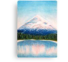 Dawn Mountain Canvas Print