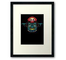 Mario Jedi Framed Print