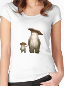 Mushroom People Women's Fitted Scoop T-Shirt