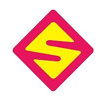 IISuperwomanII Colored Logo! Photographic Print