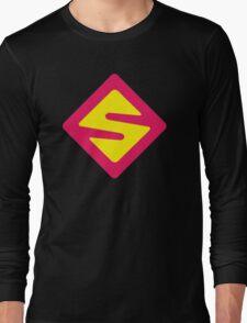 IISuperwomanII Colored Logo! Long Sleeve T-Shirt
