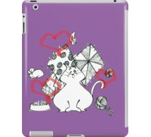 cat and nothing else! iPad Case/Skin