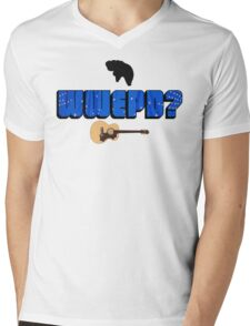 WWEPD? Mens V-Neck T-Shirt
