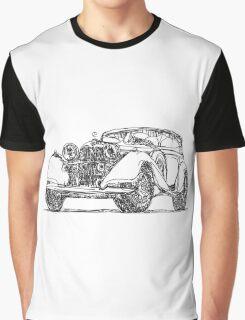 retro auto car Graphic T-Shirt