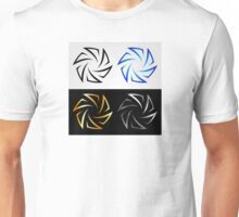 Aperture in different colors  Unisex T-Shirt