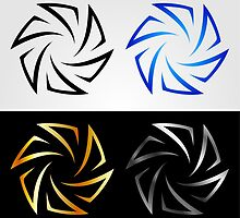 Aperture in different colors  by Shawlin Mohd