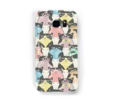 smart kitties... Samsung Galaxy Case/Skin