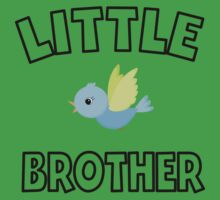 Bird Little Brother One Piece - Short Sleeve