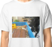 Hamster and dog  Classic T-Shirt