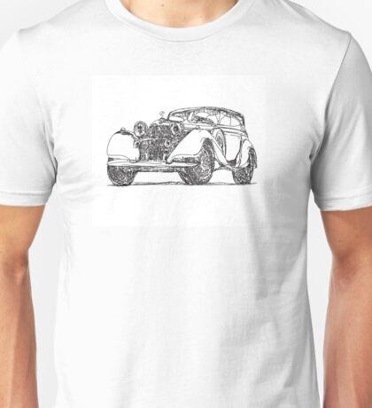 retro auto car Unisex T-Shirt