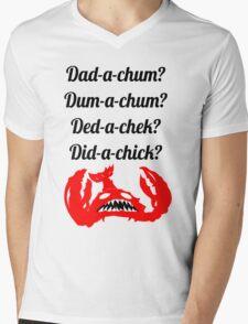 Lobstrosity Dad-a-Chum Mens V-Neck T-Shirt