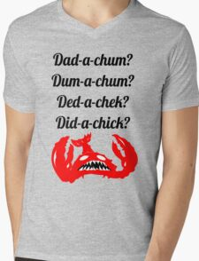 Lobstrosity Dad-a-Chum Mens V-Neck T-Shirt