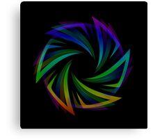 Abstract futuristic design element  Canvas Print
