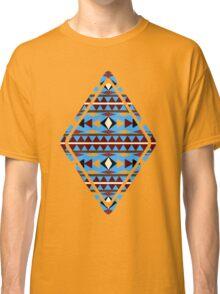 Navajo Blue Pattern Classic T-Shirt