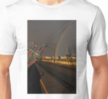 Rainbows at dawn Unisex T-Shirt