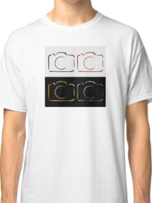 Abstract photography camera Classic T-Shirt