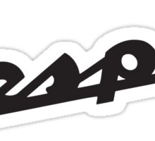 Vespa logo Sticker