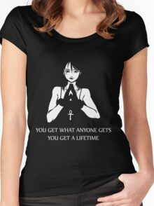 Death (The Sandman) Women's Fitted Scoop T-Shirt
