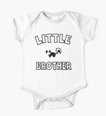 Skunk Little Brother One Piece - Short Sleeve