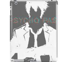 Psycho Pass Shinya Kogami White iPad Case/Skin