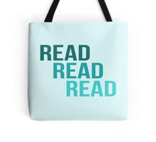 Read Read Read Tote Bag