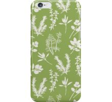 Herb and Green Background iPhone Case/Skin