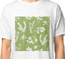 Herb and Green Background Classic T-Shirt