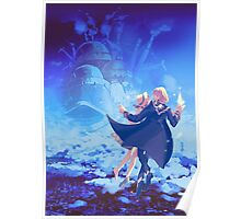 Howl's Moving Castle Love Poster