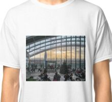 Sky Gardens Walkie Talkie Building London Classic T-Shirt