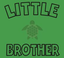 Sea Turtle Little Brother Baby Tee