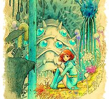 Nausicaa of the Valley of the Wind by alakaprazolam