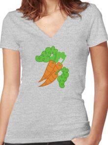 My little Pony - Carrot Top / Golden Harvest Cutie Mark V3 Women's Fitted V-Neck T-Shirt