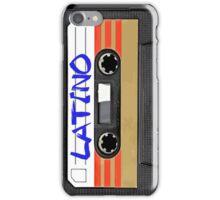 Latin Latino music tape iPhone Case/Skin