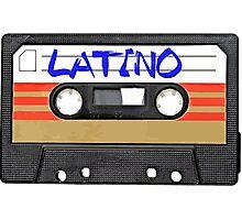Latin Latino music tape Photographic Print