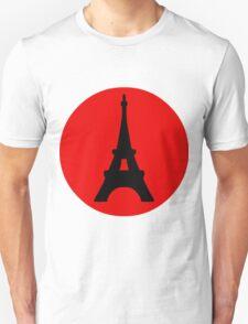 The Eiffel Tower, Paris, France. T-Shirt