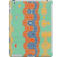 Distorted retro bubbles iPad Case/Skin