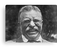 Theodore 'Teddy' Roosevelt Laughing Canvas Print