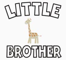Giraffe Little Brother One Piece - Short Sleeve