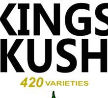 Kings Kush (Heinz Parody) Sticker