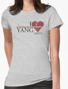 Grey's Anatomy - Yang  Womens Fitted T-Shirt