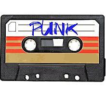 Punk Music Tape Photographic Print