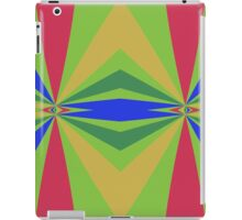 Rainbow rays abstract design iPad Case/Skin